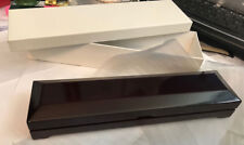 9 5/8x2 5/16x1 17/32in New Wood Watches Box with Logo Size