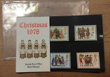 GB STAMPS PRESENTATION PACK CHRISTMAS 1978 PACK 104  - GREAT CONDITION