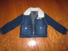 Denim FUBU Jacket w/fur & front pockets & zipper.. 4T