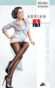 Maternity Tights 20 Den  Pregnancy size M L Adrian Ambrosia