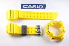 CASIO GF-8250-9 G-Shock Frogman Yellow BAND & BEZEL & Bezel Screws Combo GF-8250