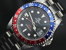 Alpha GMT Master men's mechanical automatic watch red blue bezel