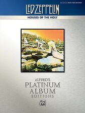 Led Zeppelin - Houses Of The Holy Platinum Bass TAB Book *NEW* Sheet Music,