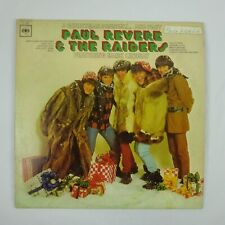 Paul Revere & The Raiders Vinyl Mono LP A Christmas Present and Past