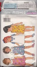 Butterick Classical Kids 4411 Sewing Pattern 5-6-6X UNCUT Little Girls Dresses