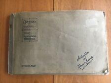 More details for 1934 gale & polden regimental christmas xmas cards catalogue 16 samples rare
