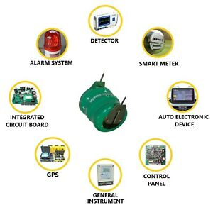 NiMH Ni-MH 3.6V 60mAh Rechargeable Battery 2 pins 3 cells 3xHB60 - UK STOCK