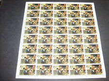 Nicaragua 1980 Revolution anniversary 75c Used Full Complete Sheet #S375