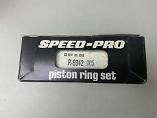 R 9442 005 Speed Pro Piston Ring Set Fit Chevy 302 327 350 Ford 289 302 Nos