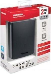 Toshiba Canvio Basics HDTB320EK3CA - HDD Esterno 2TB 2,5'' - Nero