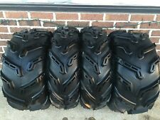 QUADBOSS MUDBOSS BY ITP Mud Tire 4 TIRE SET (FOUR TIRES) 25x8-12  25x10-12 6 PLY