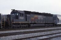 SEABOARD SYSTEM Railroad Locomotive 8941 DU BOIS PA Original 1987 Photo Slide
