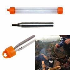 Fire Lighting Pocket Bellow  - Bushcraft Survival Kit Telescopic Tinder Starter