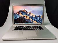 "Apple Macbook Pro Laptop 15.4"" Quad-Core i7 2.6 - 3.6 Ghz - 16GB RAM - 1TB SSHD"