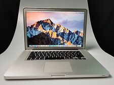 "Apple Macbook Pro Laptop 15.4"" Quad-Core i7 2.3 - 3.3 Ghz - 16GB RAM - 512GB SSD"