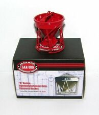 Gar-Bro R Round-Gate Concrete Bucket. Authentic Mammoet Red. 1:50th. MIB.