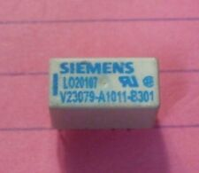 Siemens V23079 DPDT 2 Amp 4.5v coil Relay Silver Nickel Gold - NEW