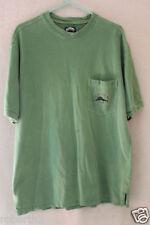 Tommy Bahama Relax Pocket Golf T Shirt Green 100% Cotton Medium