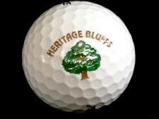 Logo Golf Ball: Heritage Bluffs Golf Club Illinois