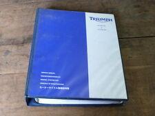 MANUEL REVUE TECHNIQUE D ATELIER TRIUMPH DAYTONA 600 650 2004-2005
