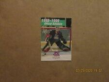 Echl New Orleans Brass Vintage Defunct 1998-99 Team Logo Hockey Pocket Schedule