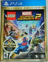 LEGO Marvel Super Heroes 2: Deluxe Edition (Sony PlayStation 4, 2017) NIP