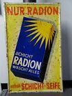 Original Blechschild,Schild,Werbung,Radion