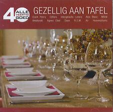 Alle 40 Goed : Gezellig aan tafel (2 CD)