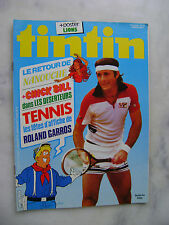 Journal TINTIN n° 350 - Tennis Roland Garros 1978