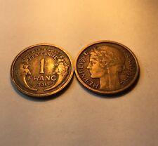 1 Franc Morlon Bronze-alu 1931