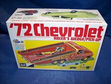 Mpc 72 Chevy Racers Wedge/ P/Up Ramp Truck Plastic Model Kit # 885/12 1/25 New