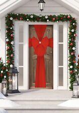 Beautiful Christmas Door Bow Red
