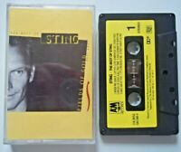 Cassette STING The Best Of Sting FIELDS OF GOLD 1984-1994 When We Dance, KOREAN