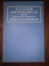 Dyke's Automobile and Gasoline Engine Encyclopedia Twentieth Edition 1943