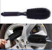 New Car Wheel Brush Thin Bristle Professional Car Valeting Soft Brush Cleaning