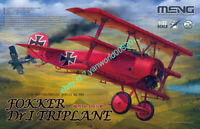 MENG MODEL QS-002 1/32 SCALE FOKKER DR.I TRIPLANE 2020 NEW