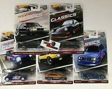 SALE!  MODERN CLASSICS * 5 Car Set * Hot Wheels Car Culture w/ Mercedes * JD18