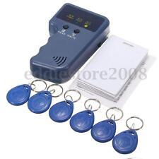 13Pcs 125Khz Handheld RFID ID Card Copier/ Reader/Writer 6 Writable Tags/6 Cards