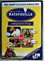 NEW Disney Pixar Ratatouille Cooking Fun for All Ages DVD Wal Mart Exclusive