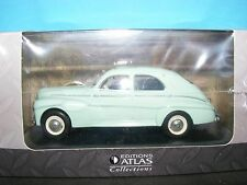 Peugeot 203 Sedan with  Sunroof Mint Green  Editions Atlas in 1:43rd. Scale