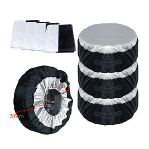 """Universal Car 13-19"""" Tote Spare Tire Tyre Storage Cover Wheel Bag Accessories"""
