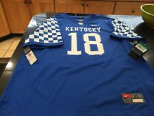 UNIVERSITY OF KENTUCKY HOME OF THE WILDCATS  LG MENS NWT BLUE