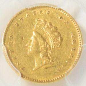 1854 Type 2 Gold Dollar PCGS AU50
