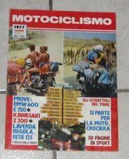 RIVISTA MOTOCICLISMO MOTO D'EPOCA BMW LAVERDA KAWASAKI