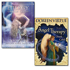Doreen Virtue Angel Therapy,Sandra Anne Taylor Energy Oracle Cards 2 Oracle Card