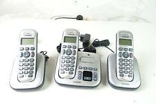 Audioline Master 383 3x Funktelefone Anrufbeantworter wireless Z-3199