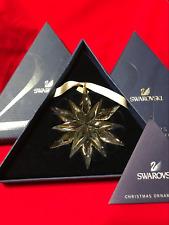 SALE !!! Swarovski 2011 Retired Large Christmas Ornament Snowflake BNIB #1092037