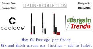 Cool Cos Denmark Paraben Parfum Free Cosmetics LIPLINER Collection #BargainTrend
