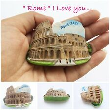 Rome Colosseum Italy Gift Collection Souvenir 3D Resin Fridge Travel Magnet
