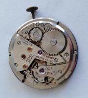 ETA 1281 Benrus DN 411 watch movement 21J for parts/repair